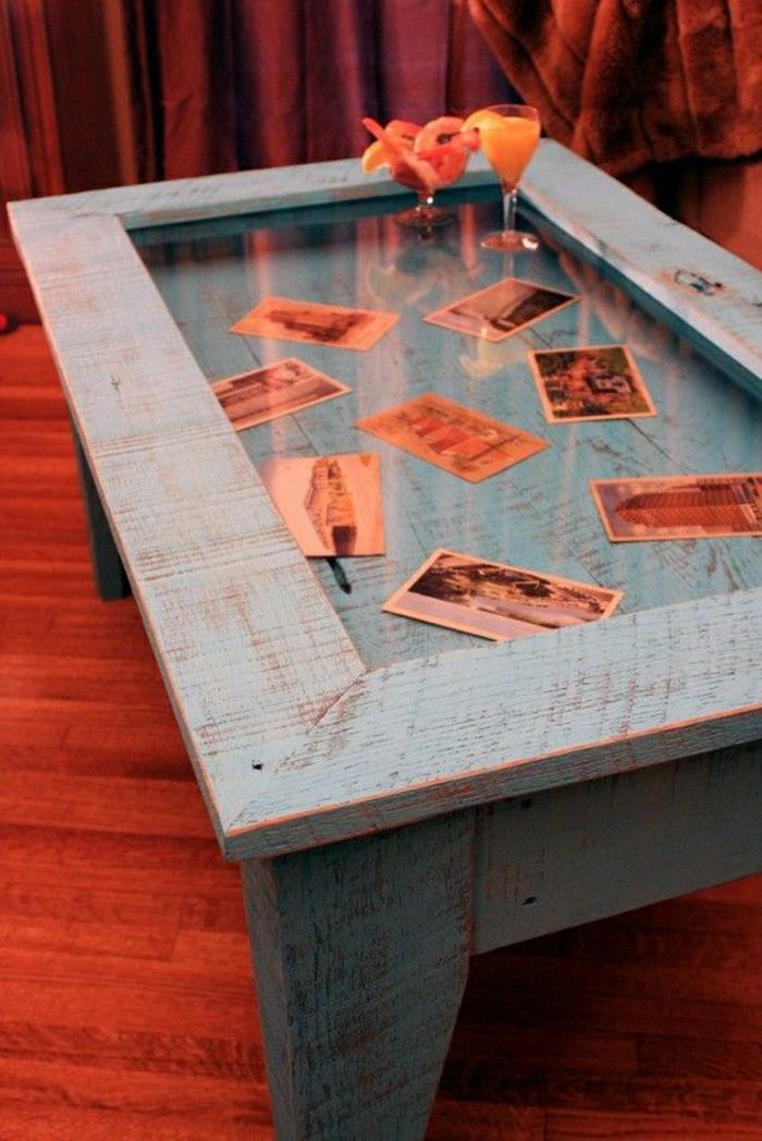 Couchtisch glas dekoration die neuesten innenarchitekturideen - Fruhlingsdeko tisch ...