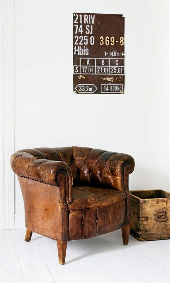 Der vintage Sessel bringt Komfort und Nostalgie - Archzine.net