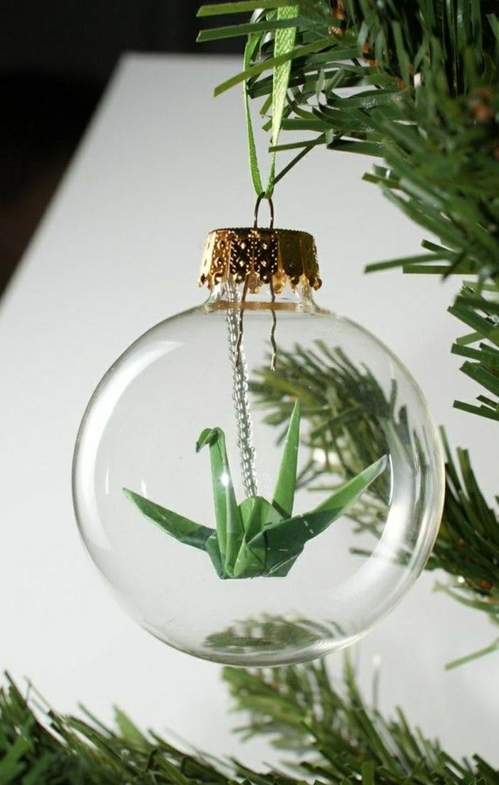 Origami-Kranich-Ball-Weihnachtsdeko