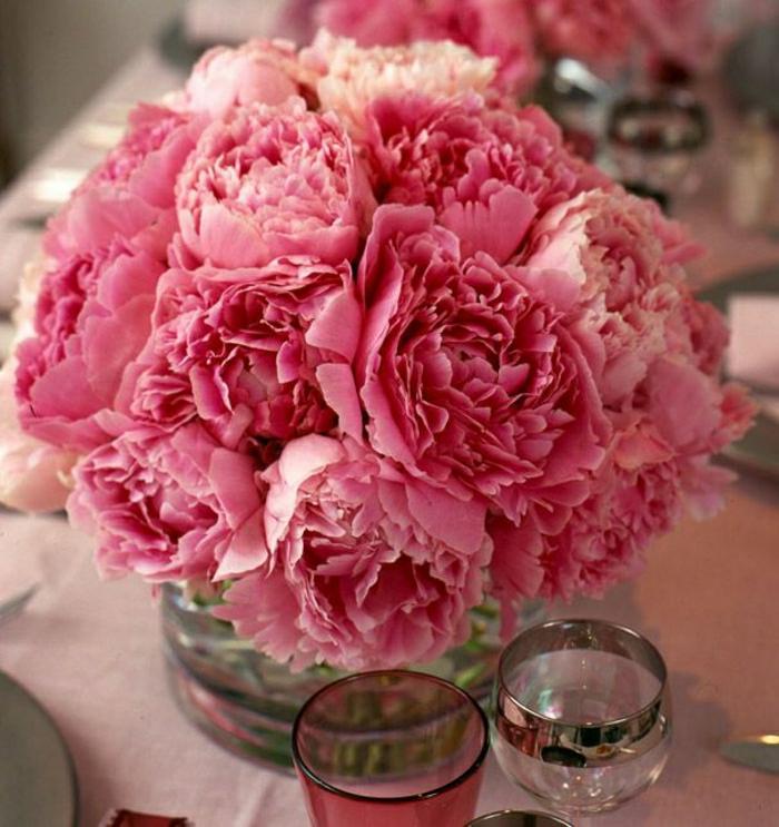 rosa-Strauß-Hausdekoration