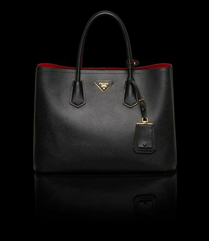 Prada-Tasche-schwarzes-Modell