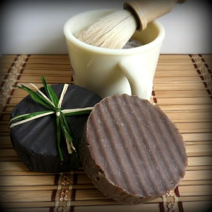 Rasierseifen-Kakaobutter-Öle-natural-handgemacht