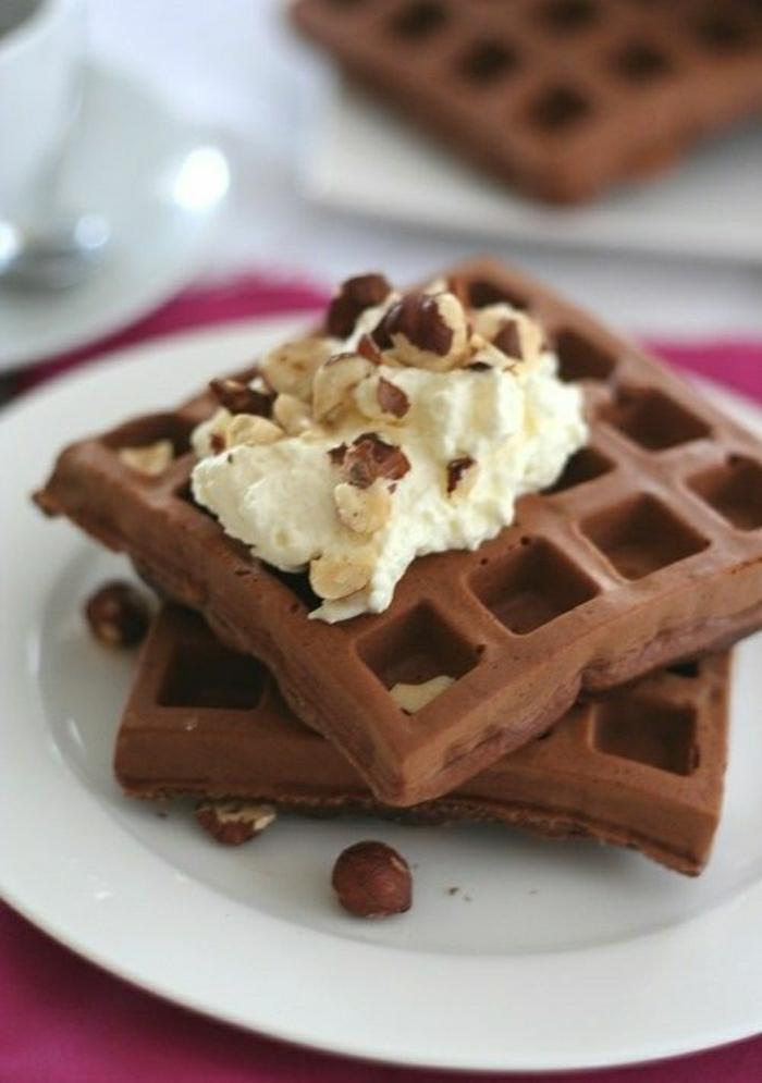 Schokolade-Haselnuss-Protein-Waffeln-glutenfrei