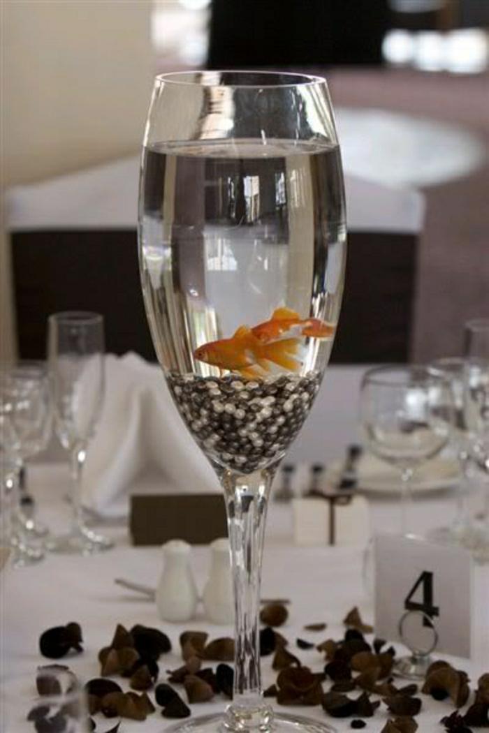 Sektglas-Perlen-Fish-Hochzeit