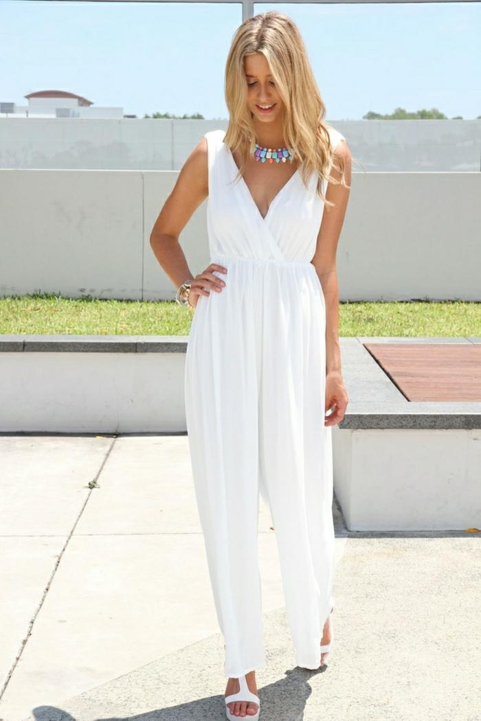 Sommerkleidung-weiß-Hemdhose-lüftig