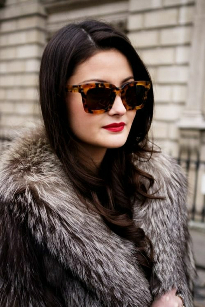 Versace-Modell-Sonnenbrille