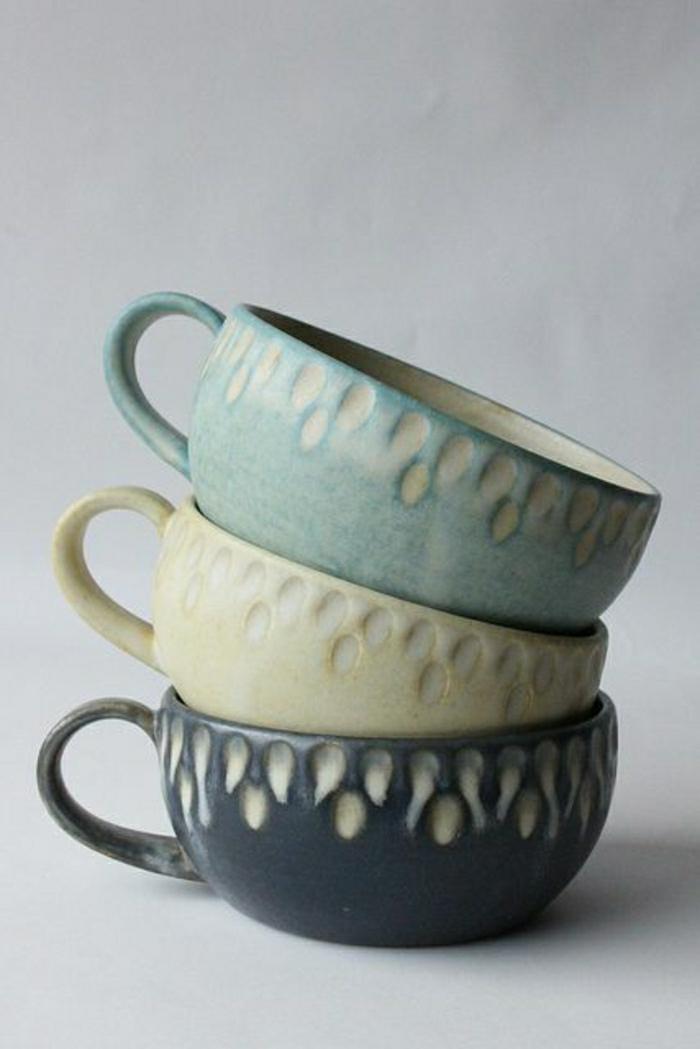 Vintage-Cappuccino-Tassen