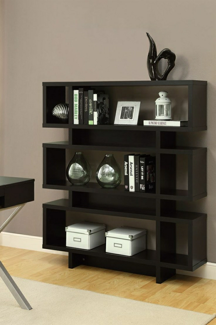 wohnzimmer regale modern. Black Bedroom Furniture Sets. Home Design Ideas