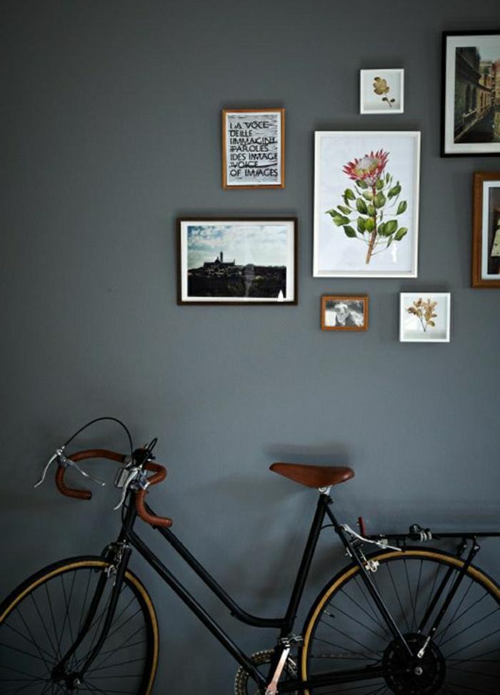Wohnung-Fahrrad-Bilder-Blumen