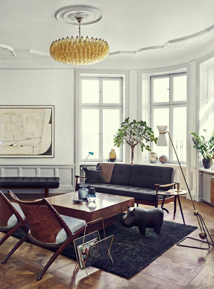 Wohnung-Stockholm-skandinavisches-Interieur-schwedisch-dunkel-stilvoll