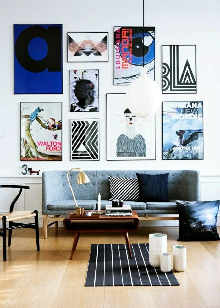 Wohnzimmer-abstrakte-Bilder-extravagant-modern