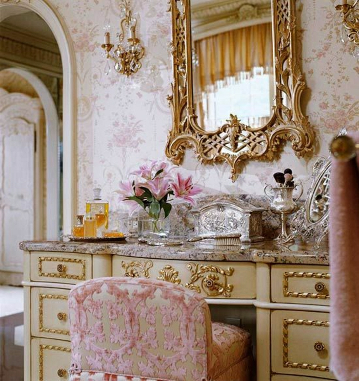 Parisian Baby Nursery Design Pictures Remodel Decor And: Die Barock Tapete In 48 Wunderschönen Design Ideen