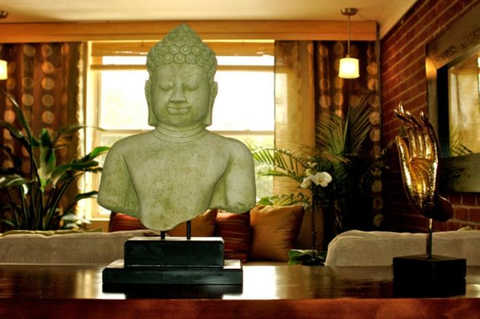 asiatische-wohnideen-buddha-statue-sehr-interessant