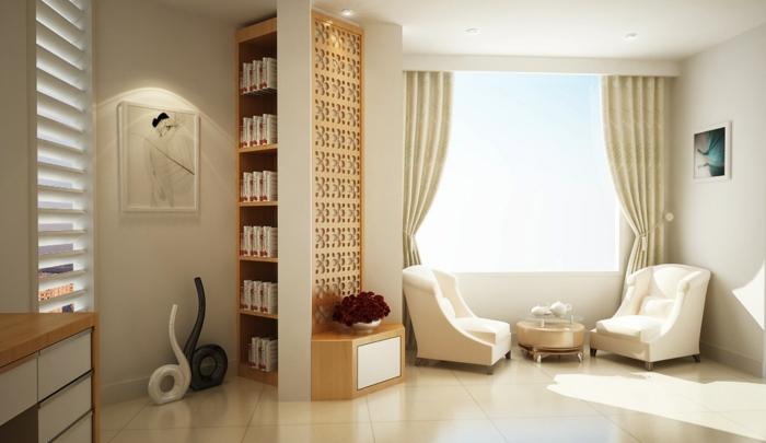 asiatische-wohnideen-weiße-interessante-innengestaltung