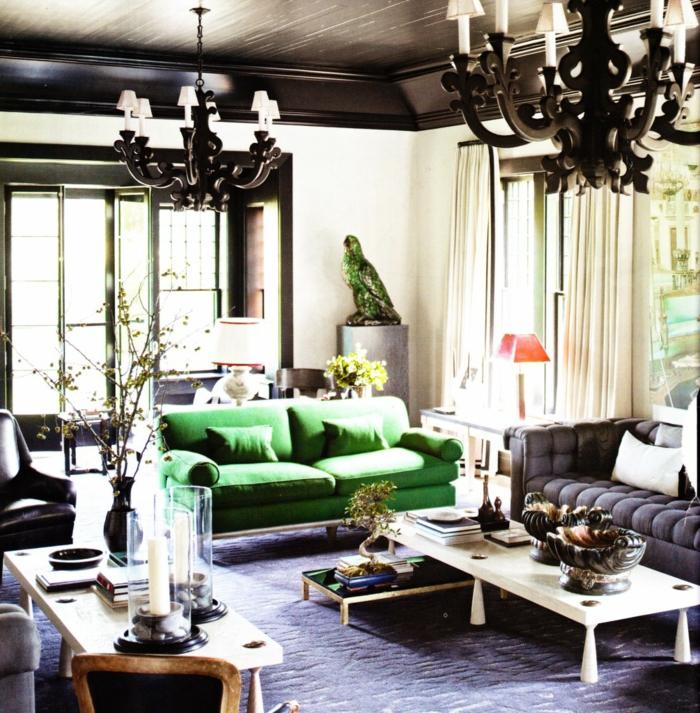 außergewöhnliche-wohnideen-grünes-modell-vom-sofa