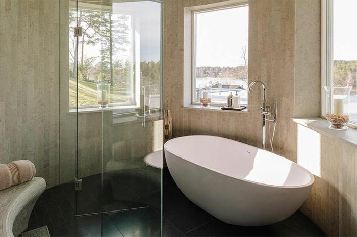 ... Kreative wandgestaltung mit farbe beispiele with modern badezimmer
