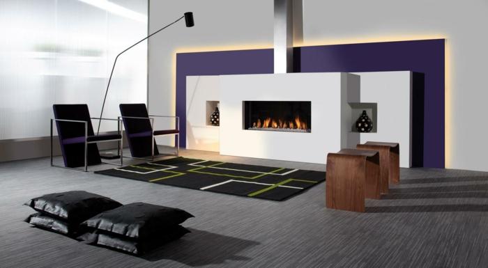 Wohnideen Wohnzimmer Schwarz ~ Kreative Bilder für zu Hause Design ...