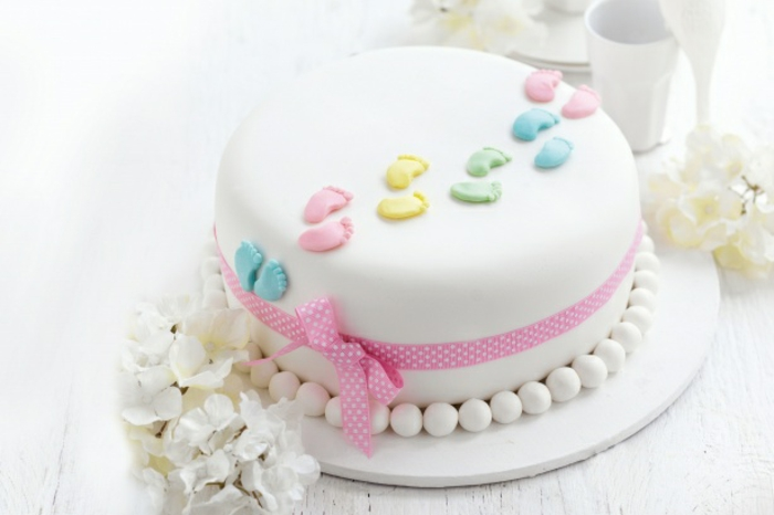 Printed Icing Cake Topper On Buttercream