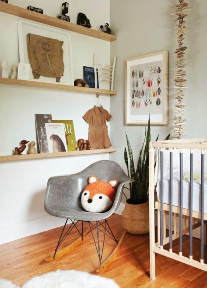 babyzimmer-design-grauer-stuhl