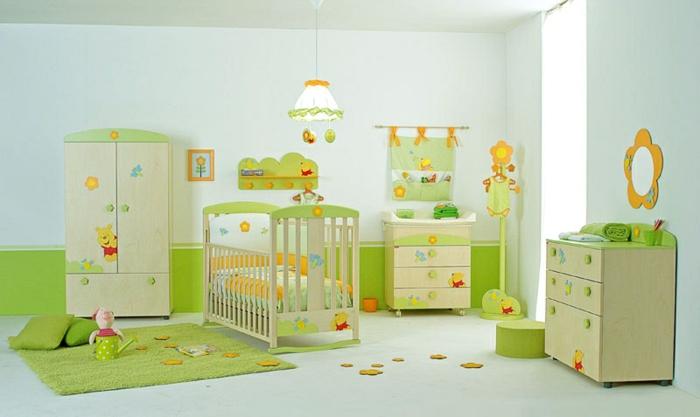 babyzimmer-design-möbel-in-grün