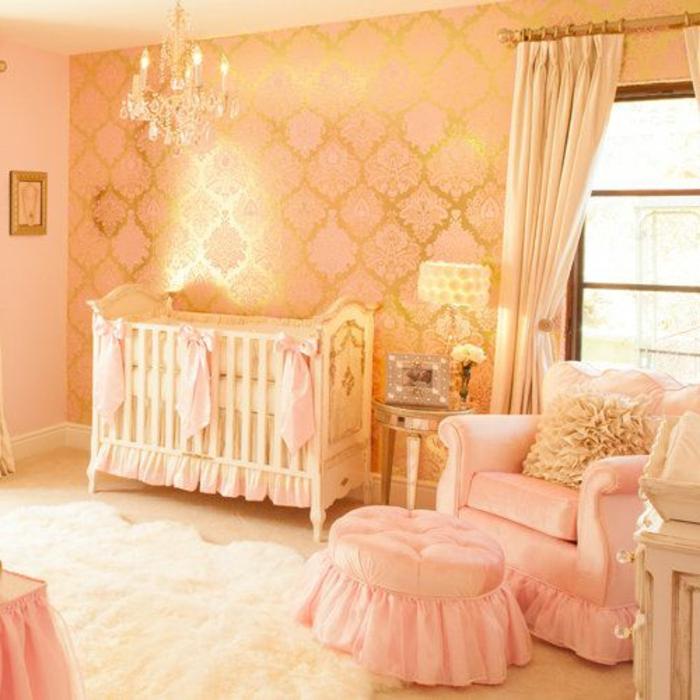 interessantes design vom babyzimmer - aristokratisches modell