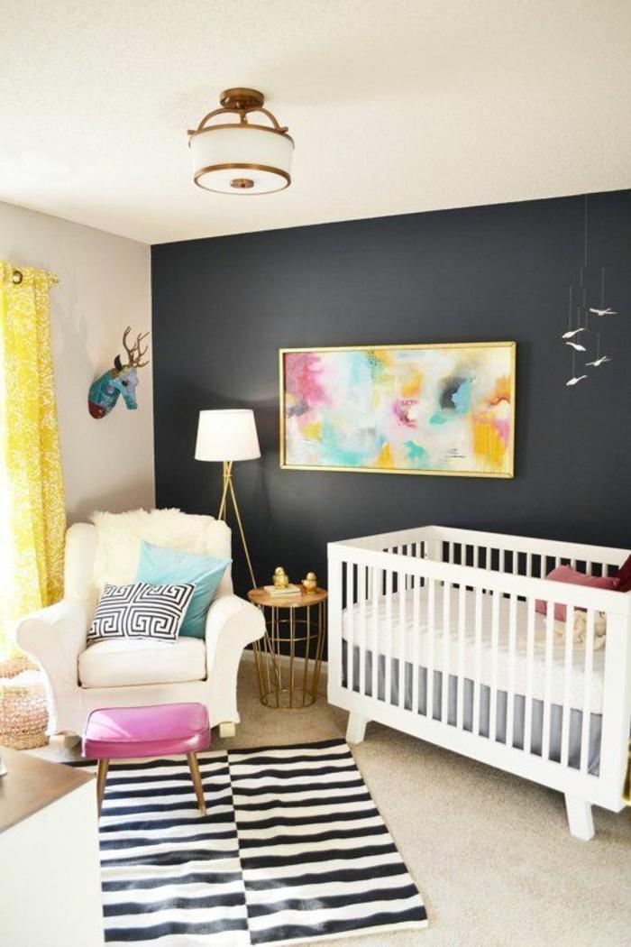 babyzimmer-design-teppich-in-weiß-und-schwarz