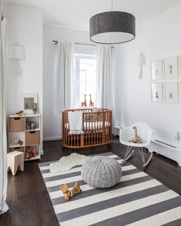 babyzimmer-design-tolle-graue-lampe-moderner-teppich