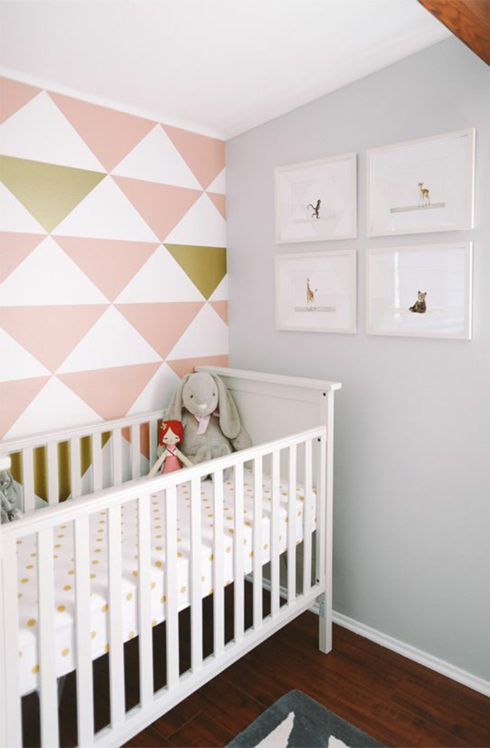 babyzimmer-design-weißes-babybett