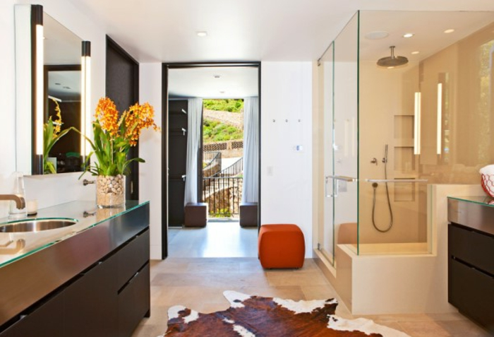 Badeinrichtungen ideen eleganter look