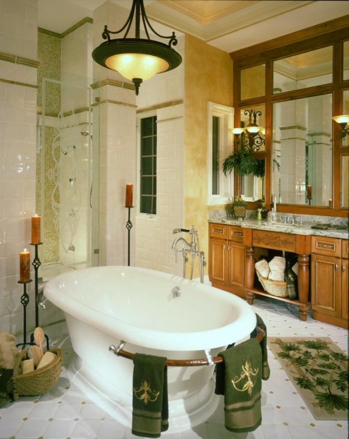 Badeinrichtungen ideen freistehende badewanne