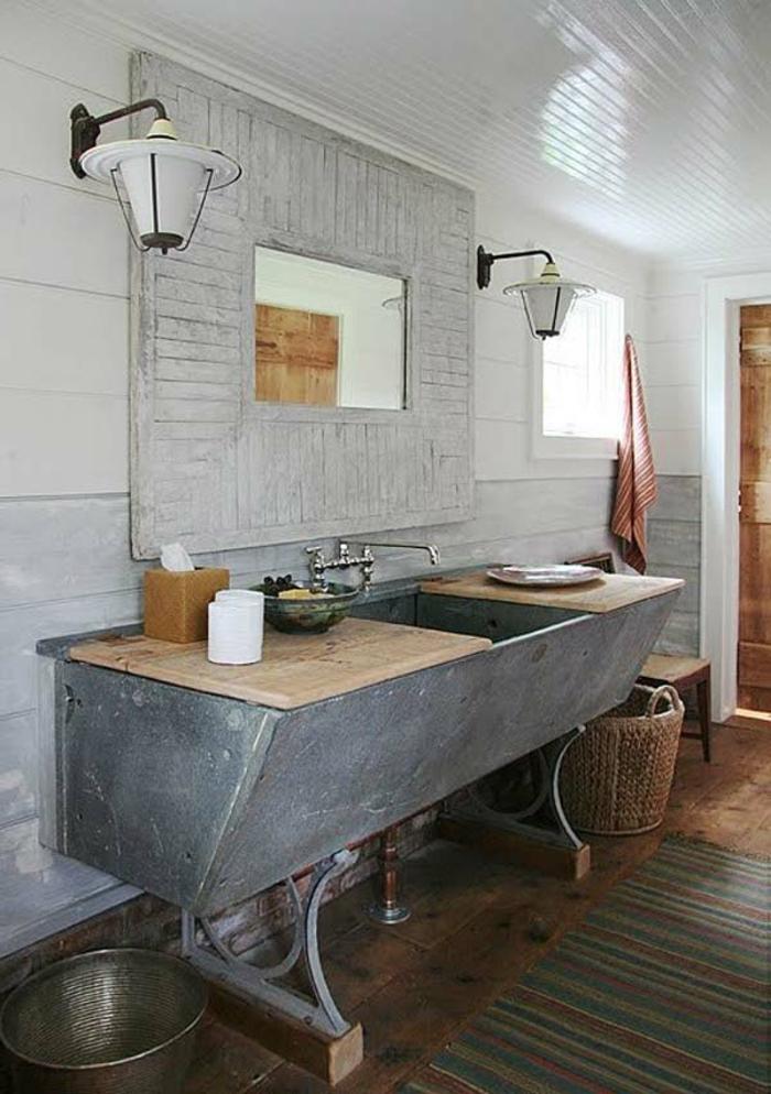 102 super tolle badeinrichtungen ideen - Rustikale badezimmer ...