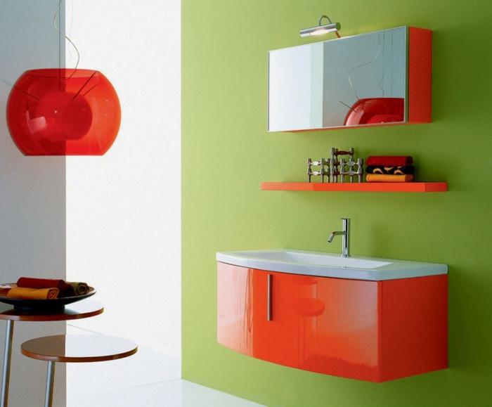 badeinrichtungen-ideen-orange-gestaltung