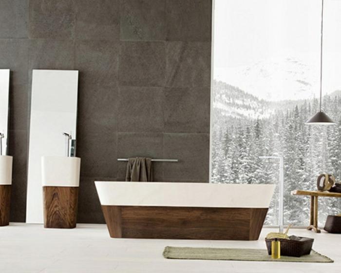 badeinrichtungen-ideen-originelle-graue-gestaltung