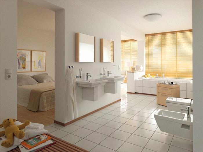 badeinrichtungen-ideen-weiße-gestaltung-gelve-jalousien