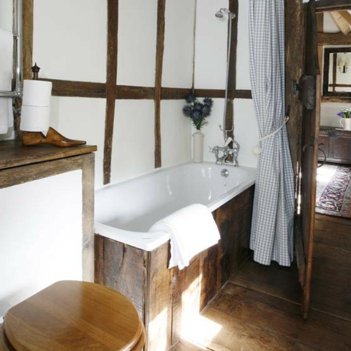 badeinrichtungen-ideen-weiße-schöne-gestaltung - bäuerlich