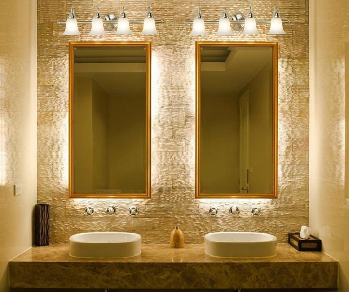 badeinrichtungen-ideen-zwei-moderne-spiegel