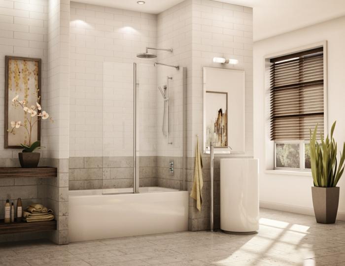 Moderne Badezimmer Mit Dusche Und Badewanne ~ Ideen Für Die ... Moderne Badezimmer Mit Dusche Und Badewanne