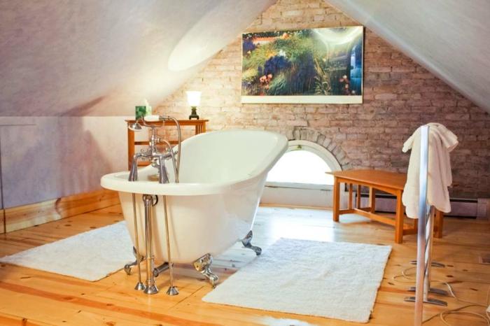 badewanne-unter- dachschräge-freistehendes-modell
