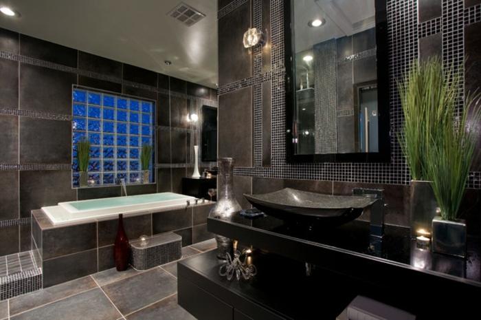 glasbausteine dusche beispiele raum und m beldesign. Black Bedroom Furniture Sets. Home Design Ideas