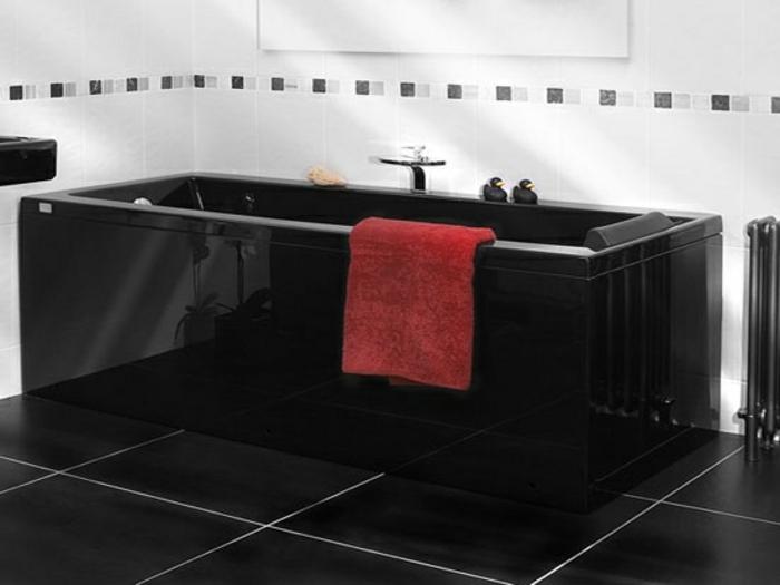 38 beispiele f r badezimmer in schwarz. Black Bedroom Furniture Sets. Home Design Ideas