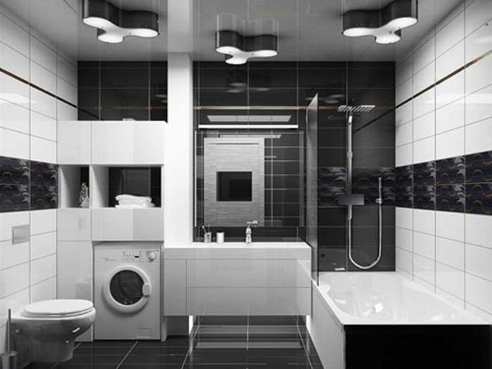 52 fotos badezimmer in schwarz und weiß