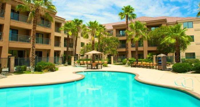 bilder-von-palmen-wunderschöner-pool