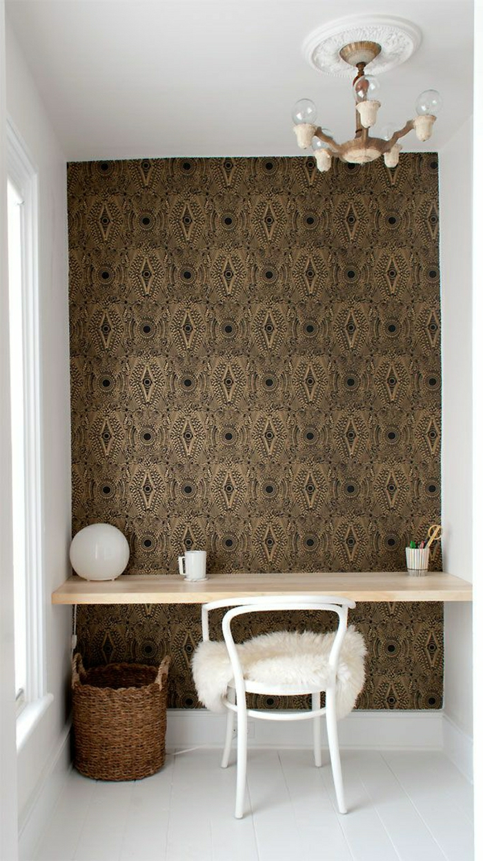 braune-tapeten-ideen-moderne-tapeten-design-tapeten-schöne-tapeten