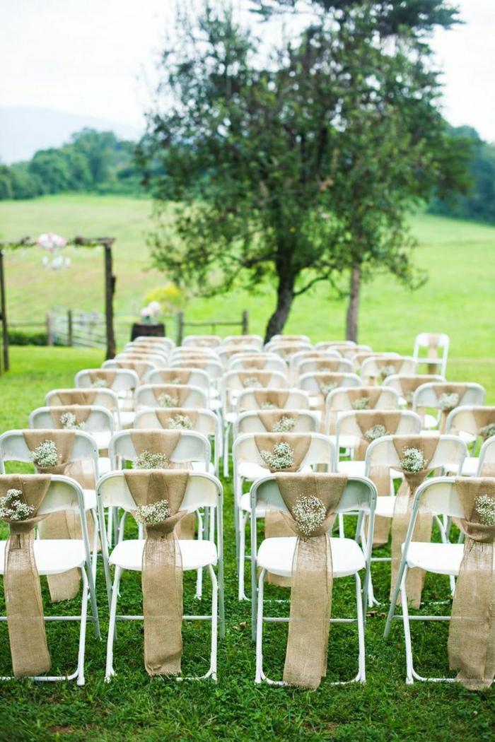 Stuhl Deko Hochzeit Selber Machen Wohn Design