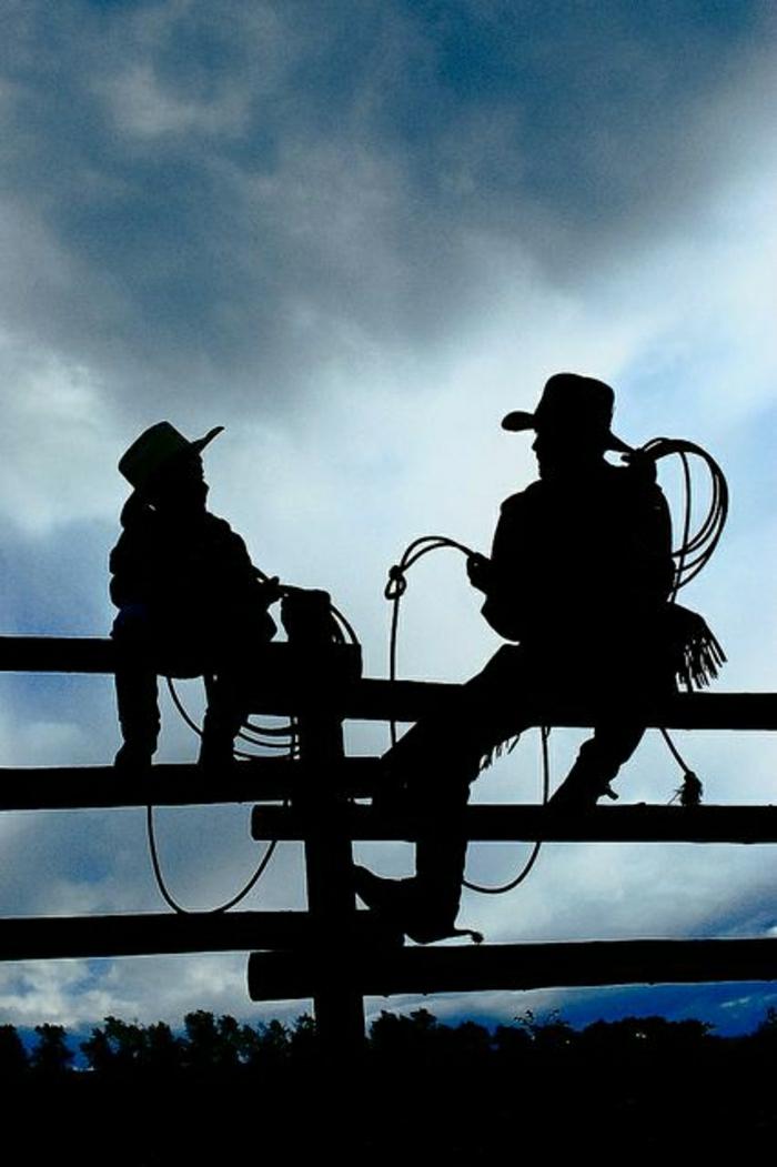 coole-Bilder-Cowboys-Vater-Sohn