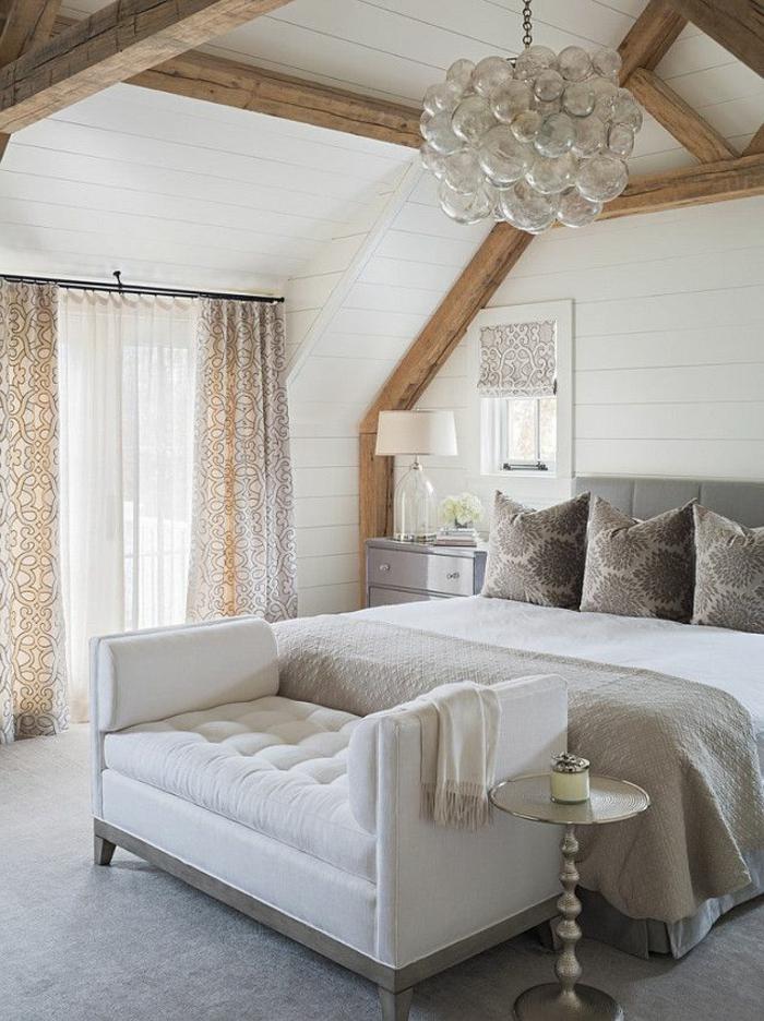 deckenbeleuchtung-für-schlafzimmer-cooles-design-weißes-interieur