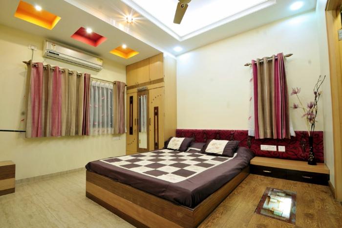 deckenbeleuchtung-für-schlafzimmer-hohe-zimmerdecke