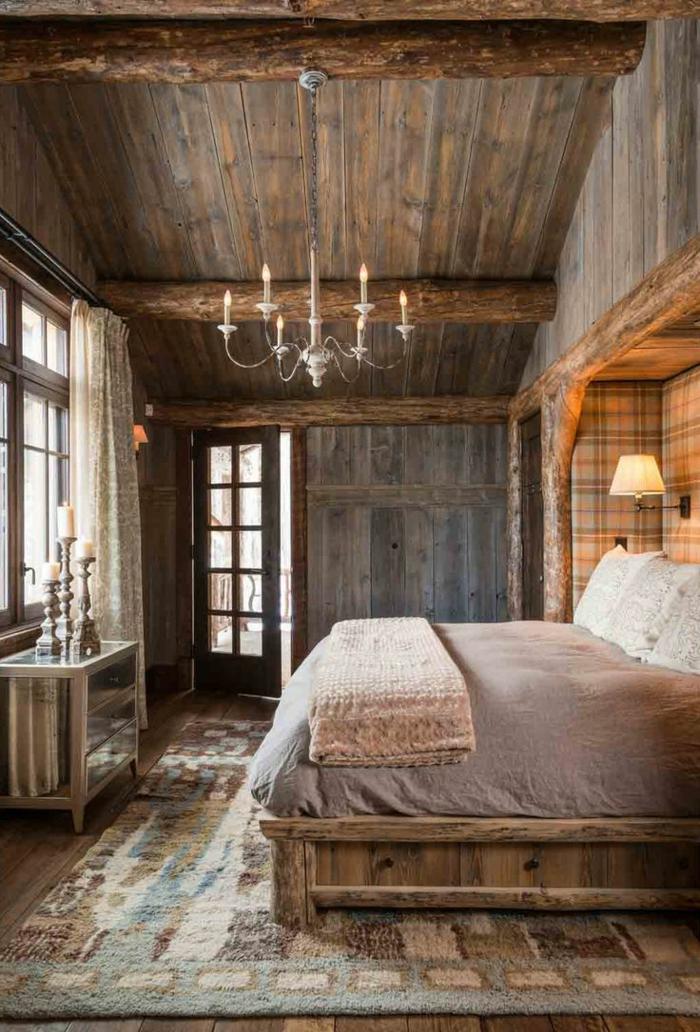 deckenbeleuchtung-für-schlafzimmer-interessante-gestaltung-gemütliches-ambiente