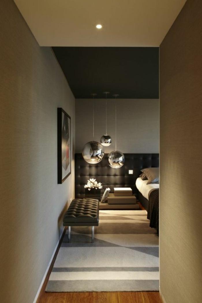 deckenbeleuchtung-für-schlafzimmer-interessanter-teppich