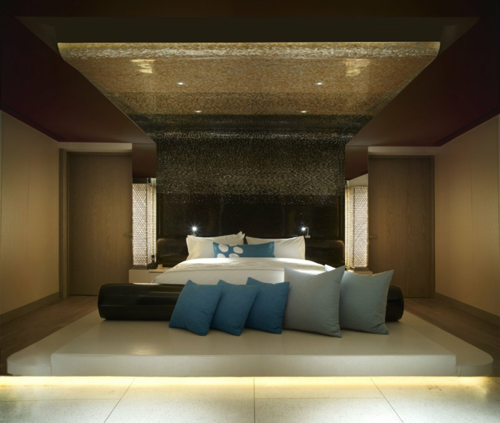 deckenbeleuchtung-für-schlafzimmer-super-luxuriöse-gestaltung